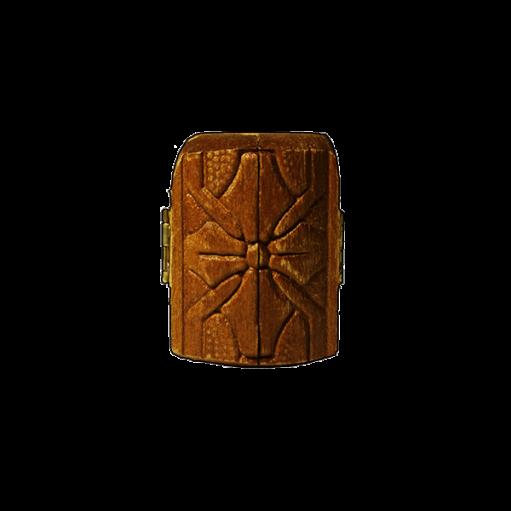 τρίπτυχο ξύλινο κλειστό