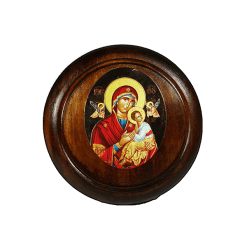 Παναγία του Πάθους, στρόγγυλη