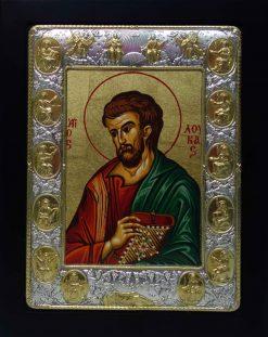 άγιος Λουκάς με χρυσούς αποστόλους