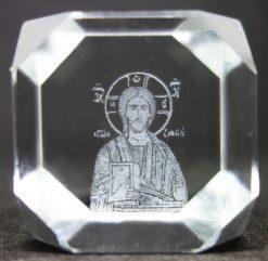 2145 Ιησούς Χριστός κύβος