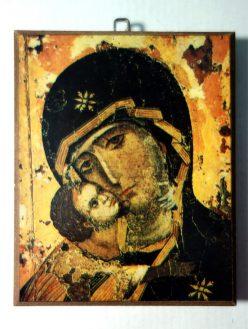 Παναγία του Βλαδιμήρου, λεπτομέρεια