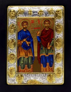 Οι Άγιοι Ανάργυροι Κοσμάς και Δαμιανός